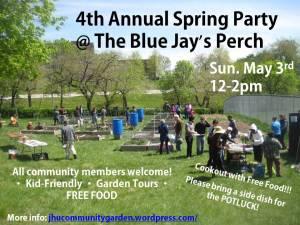 Garden spring party 2015